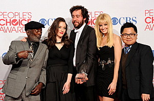 2012 People's Choice Awards - Press Room
