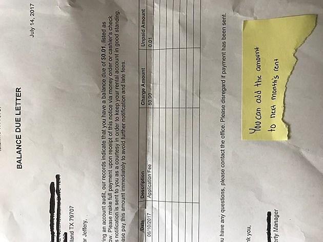Landlord letter photo